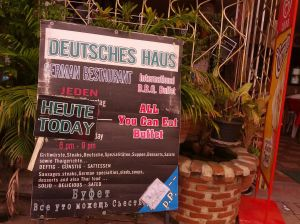 Deutsches Haus Restaurant on Beach Road
