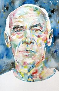 Henry Miller Portrait by Fabrizio Cassetta