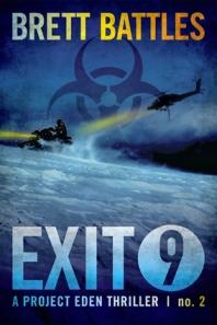 530 Brett Battles ecover Exit Nine