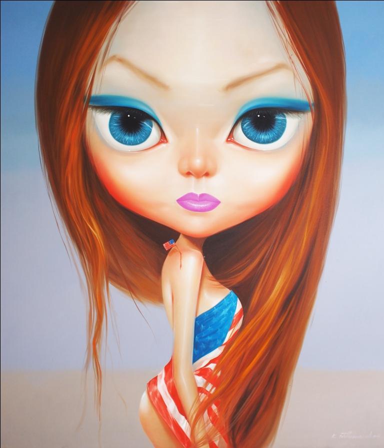 Boty Girl By Kowit Wattanarach