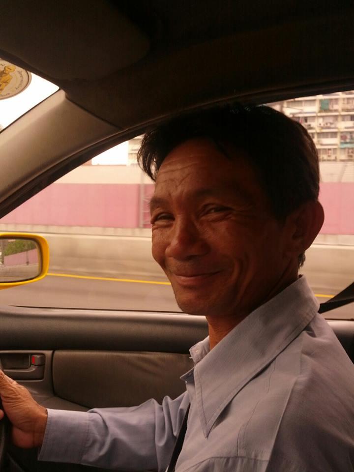 Bangkok Taxi Drivers ... Thank-you, Mr. Khemsak ... (2/4)