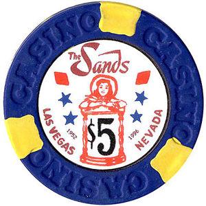 Sands $5 Chip