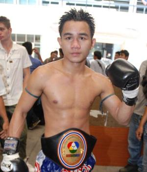 Chok. A Champion and member of Eminent Air Boxing Gym