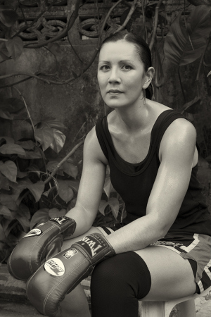 Melissa Ray, Ph.D and Four Time Muay Thai Champion