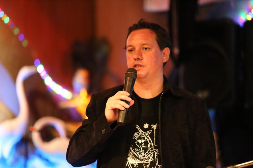 James A. Newman - Master of Ceremonies for Bangkok Night of Noir