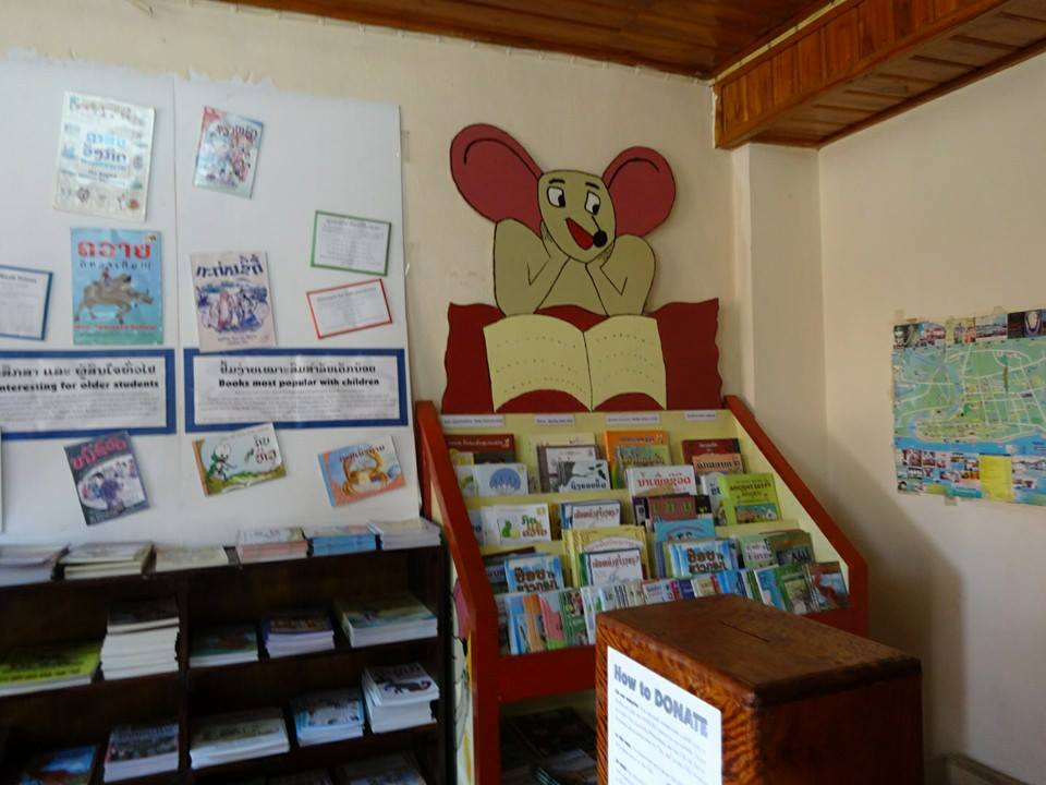 The Frog benefits Big Brother Mouse in Laos ... Reading Matters ... (6/6)