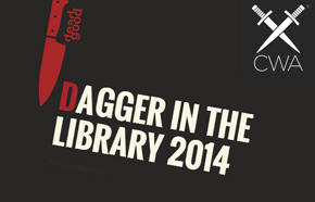 Dagger in the Library logo