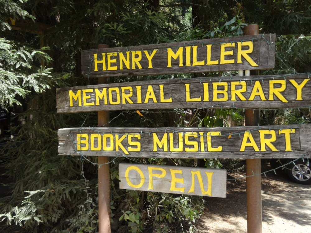 The Henry Miller Memorial Library in Big Sur, California (1/6)