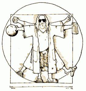 Dude Vinci illustration by Colin Cotterill